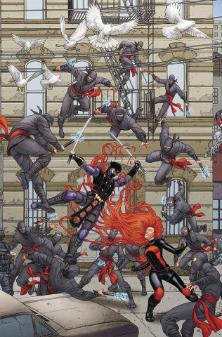 Ninjak vs. The Valiant Universe #3 (20 Copy Portela Cover)