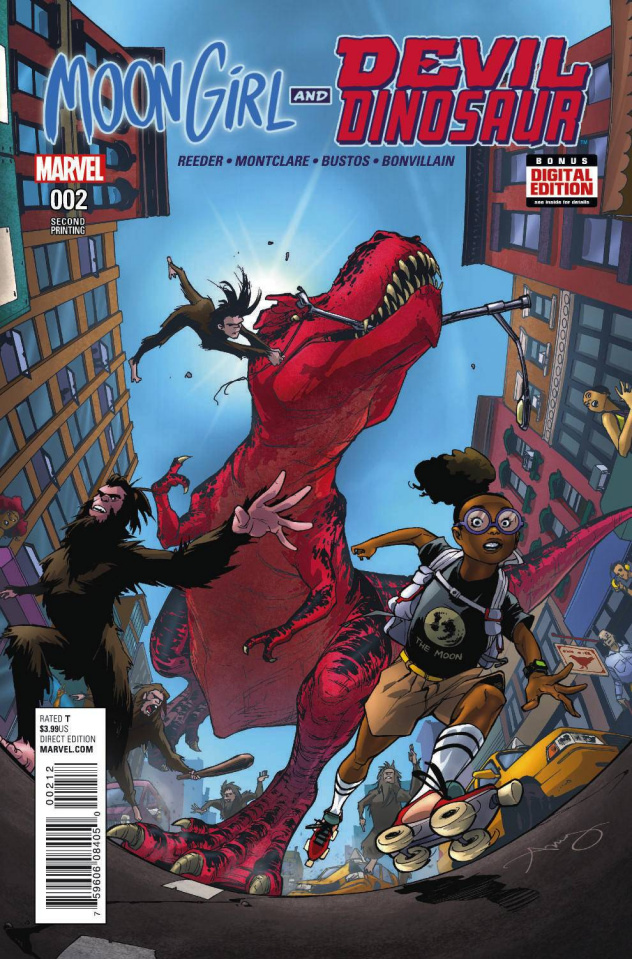 Moon Girl and Devil Dinosaur #2 (Reeder 2nd Printing)