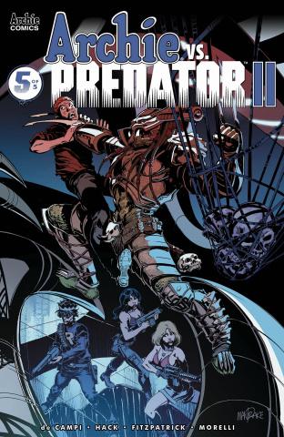 Archie vs. Predator II #5 (Mandrake Cover)