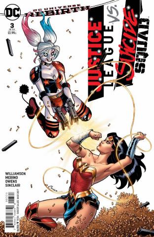 Justice League vs. Suicide Squad #3 (Conner Cover)