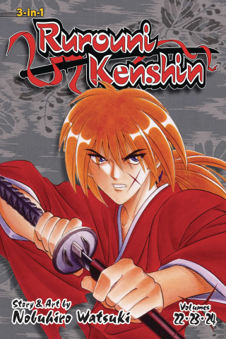 Rurouni Kenshin Vol. 8 (3-in-1 Edition)