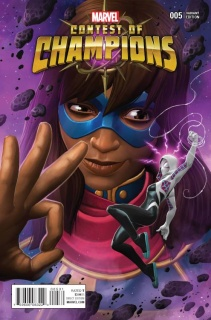 Contest of Champions #5 (Contest of Champions Game Cover)