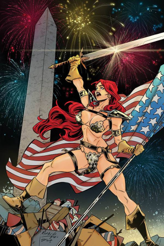 Red Sonja #18 (15 Copy Miracolo America Together Virgin Cover)