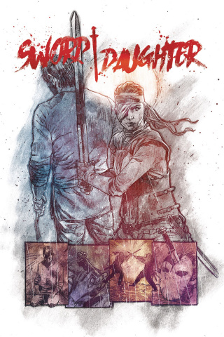 Sword Daughter #9 (Chater Cover)