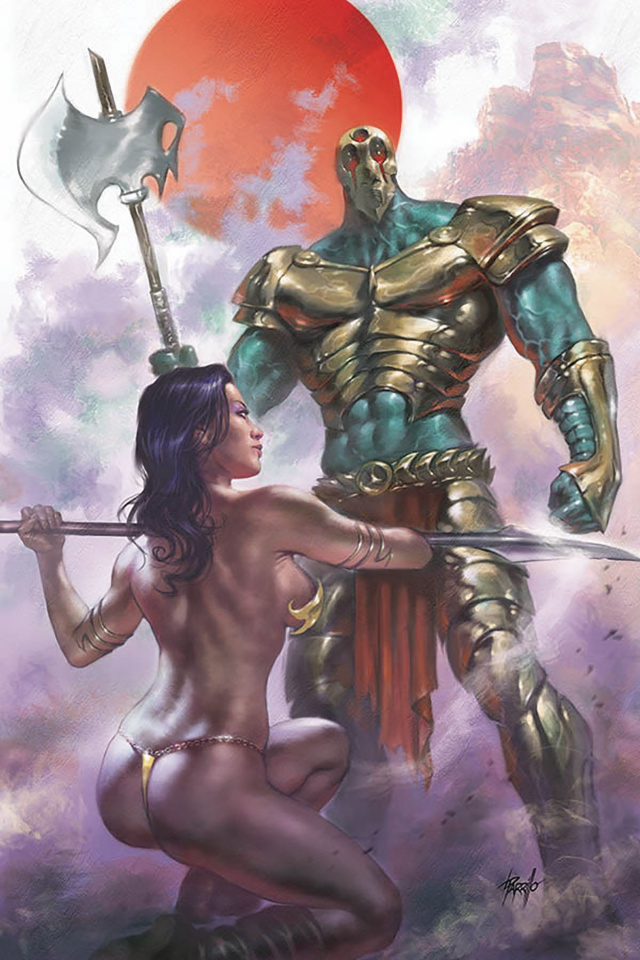 Dejah Thoris #3 (Parrillo Virgin Cover)