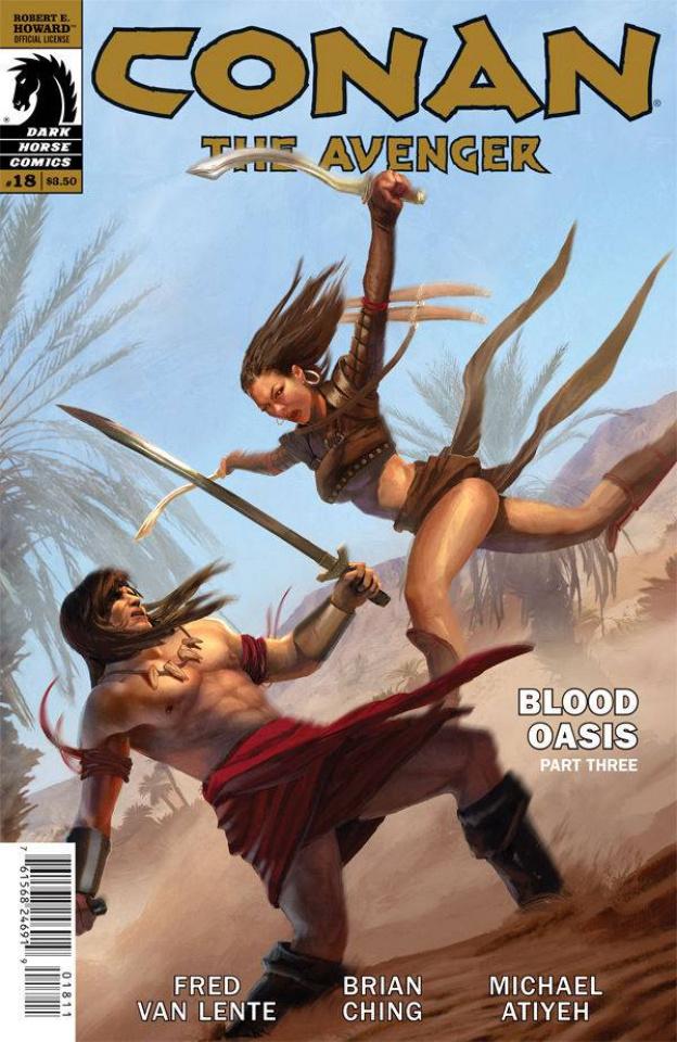 Conan the Avenger #18