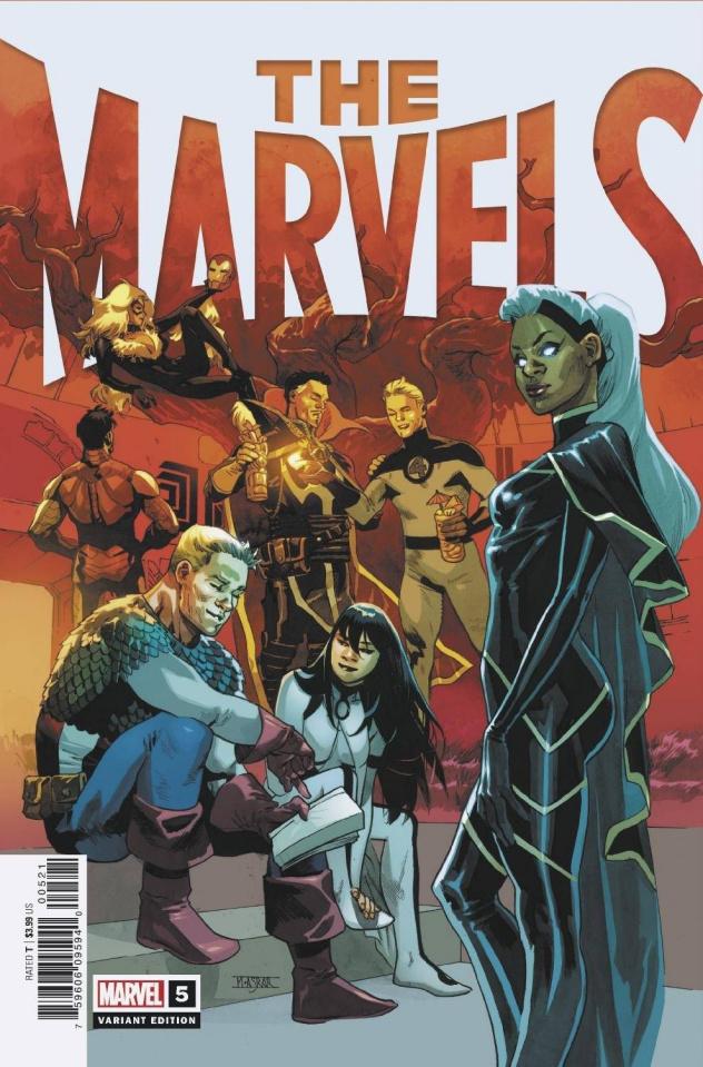 The Marvels #5 (Asrar Cover)