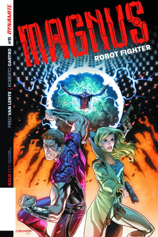 Magnus, Robot Fighter #11 (Smith Subscription Cover)
