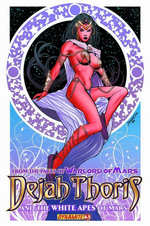 Dejah Thoris & The White Apes of Mars #3