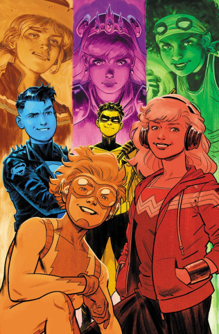 Young Justice #3 (Variant Cover)