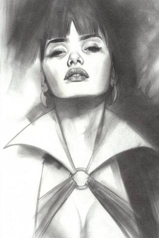 Vengeance of Vampirella #10 (30 Copy Oliver B&W Cover)