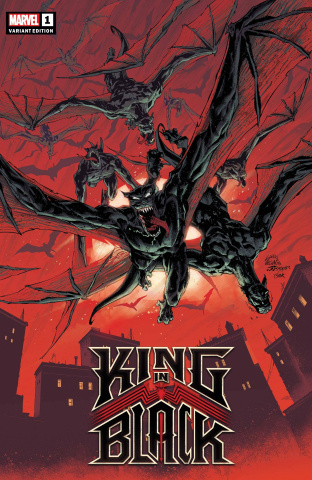 King in Black #1 (Stegman Darkness Reigns Cover)