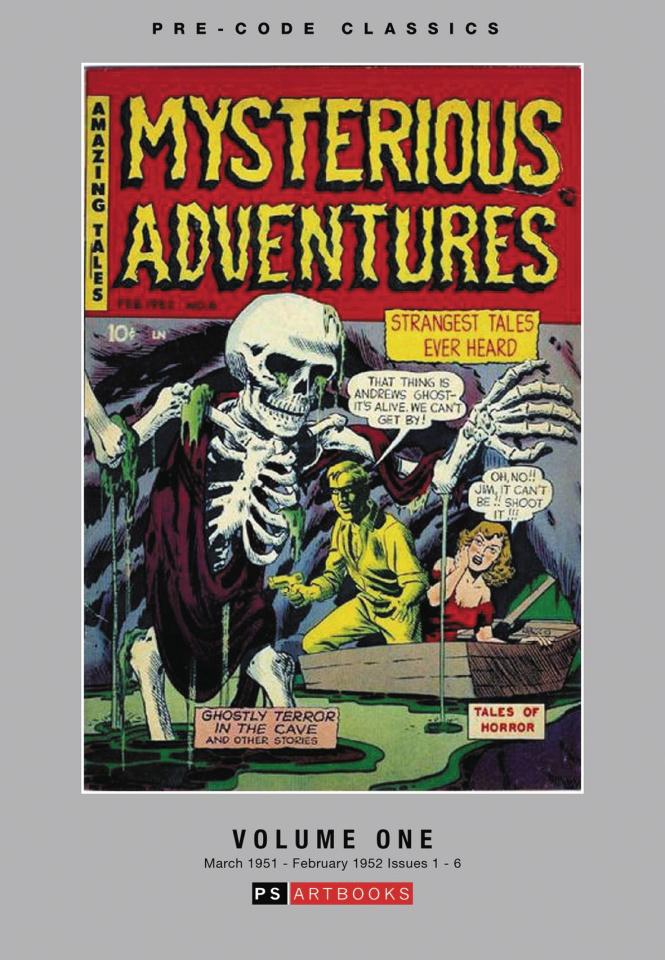 Mysterious Adventures Vol. 1