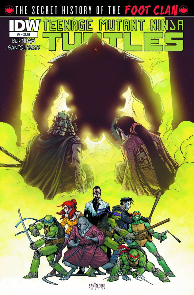 Teenage Mutant Ninja Turtles: The Secret History of the Foot Clan #4