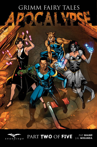 Grimm Fairy Tales: Apocalypse #2 (Cuffari Cover)