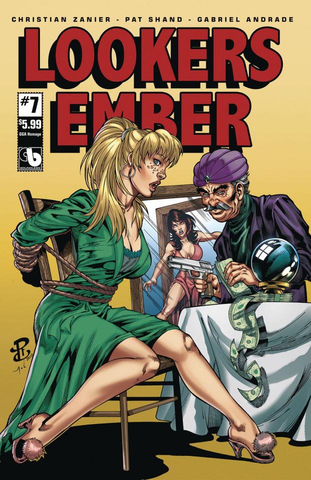 Lookers: Ember #7 (GGA Homage Cover)