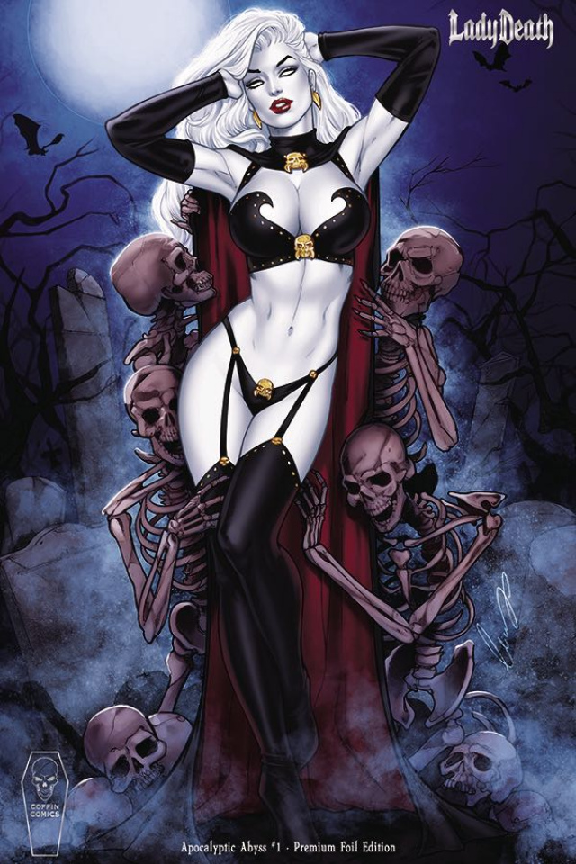 Lady Death: Apocalyptic Abyss #1 (Chatzoudis Foil Cover)