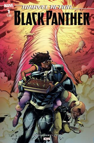 Marvel Action: Black Panther #1 (Samu Cover)