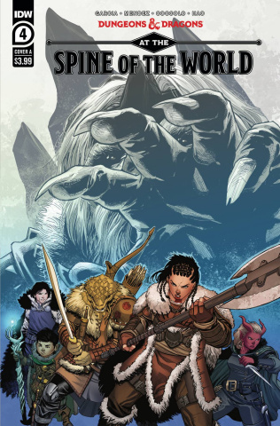 Dungeons & Dragons: At the Spine of the World #4 (Coccolo Cover)