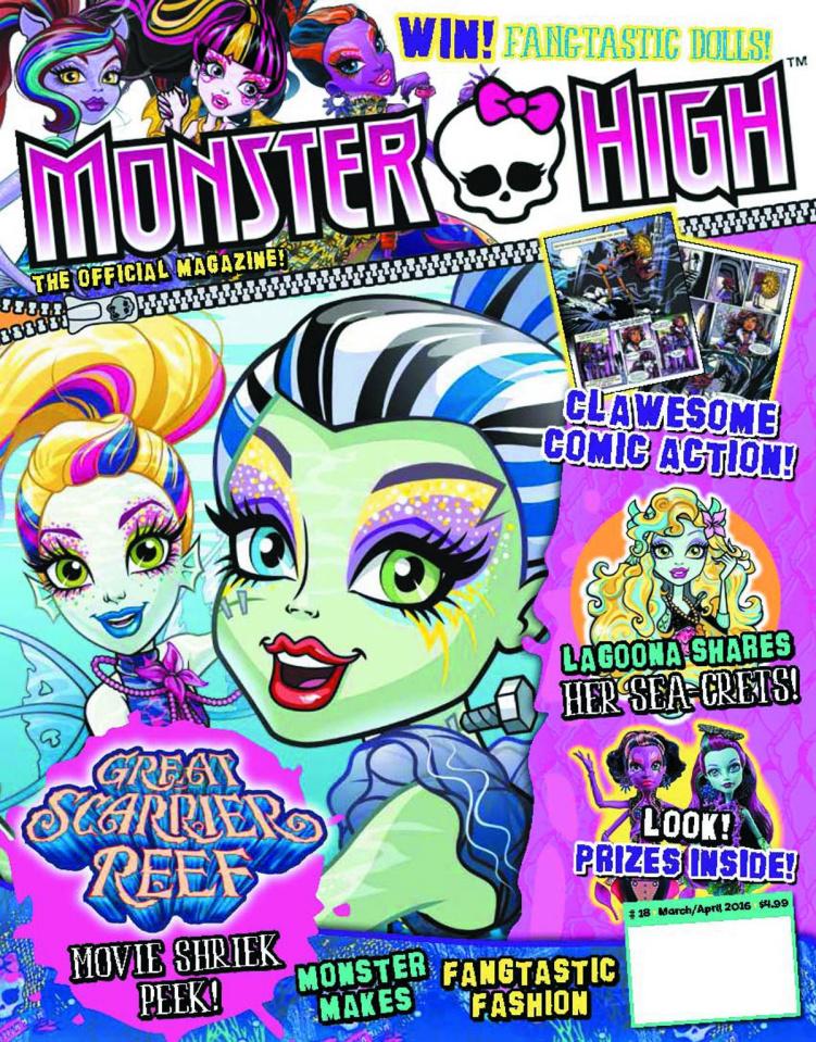 Monster High Magazine #18