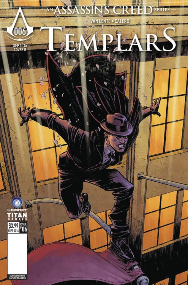 Assassin's Creed: Templars #6 (Gorham Cover)