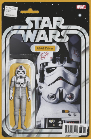 Star Wars #38 (Christopher Action Figure Cover)