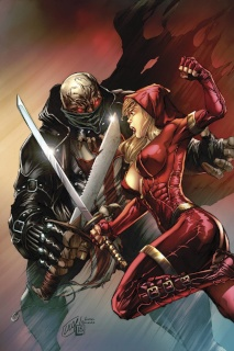 Grimm Fairy Tales: Red Agent #1 (Lilly Cover)