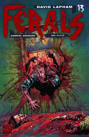 Ferals #13 (Gore Cover)
