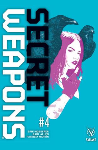 Secret Weapons #4 (Allen Cover)