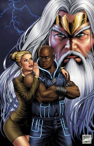 Grimm Fairy Tales: Godstorm - Hercules Payne #1 (Reyes Cover)