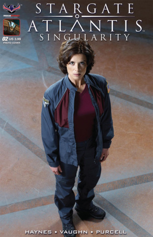 Stargate Atlantis: Singularity #2 (Photo Cover)