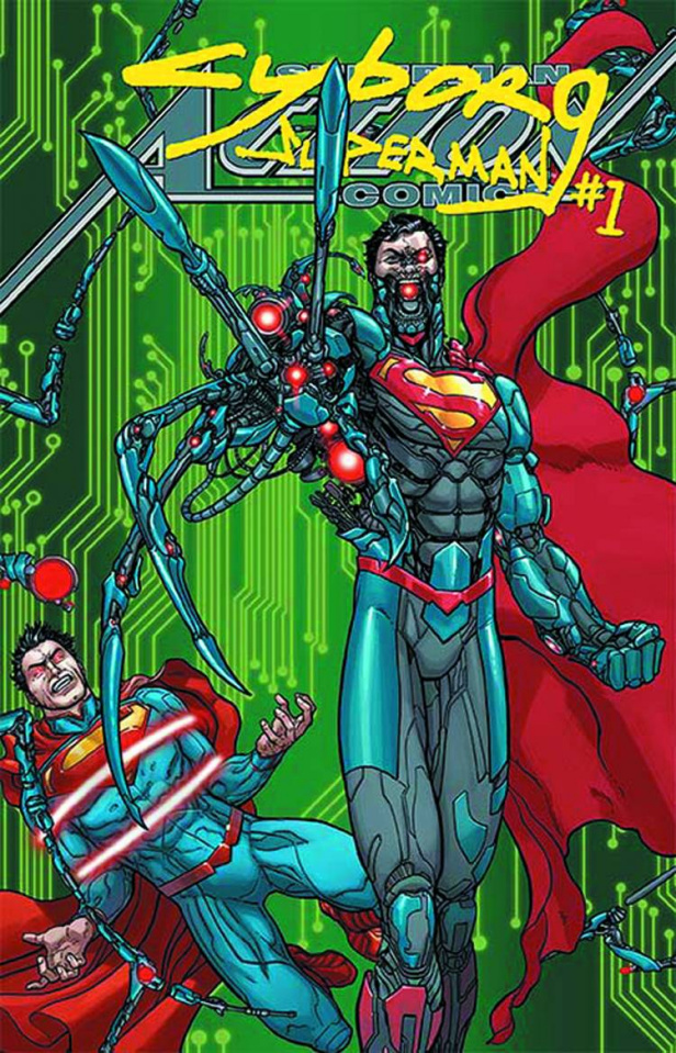 Action Comics #23.1: Cyborg Superman Standard Cover