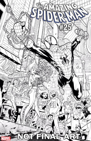 The Amazing Spider-Man #25 (Gleason Cover)