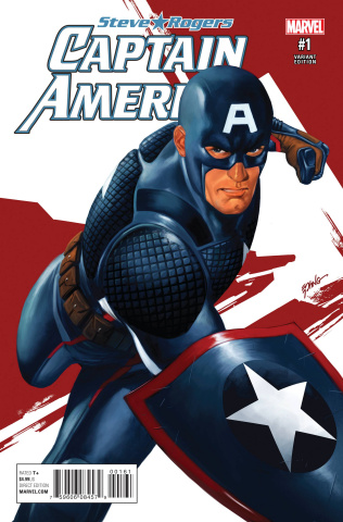 Captain America: Steve Rogers #1 (Epting Cover)