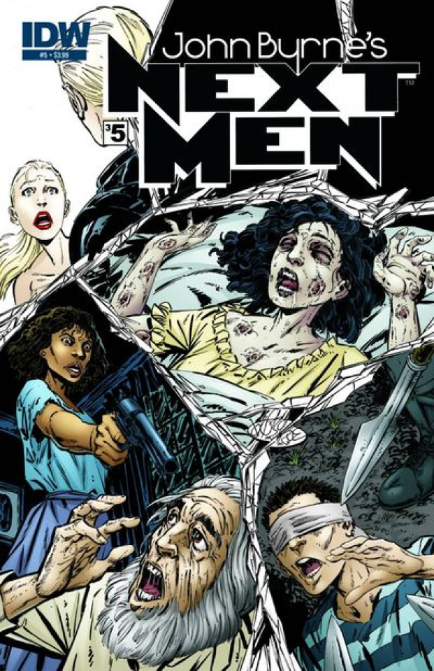 John Byrne's Next Men #5