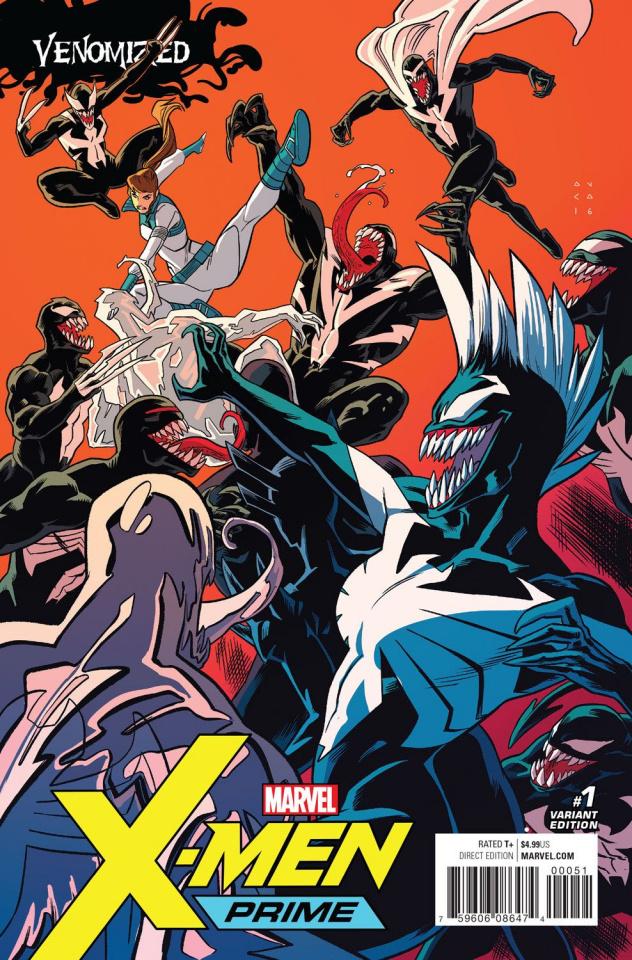 X-Men: Prime #1 (Anka Venomized Cover)