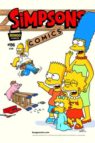 Simpsons Comics #196