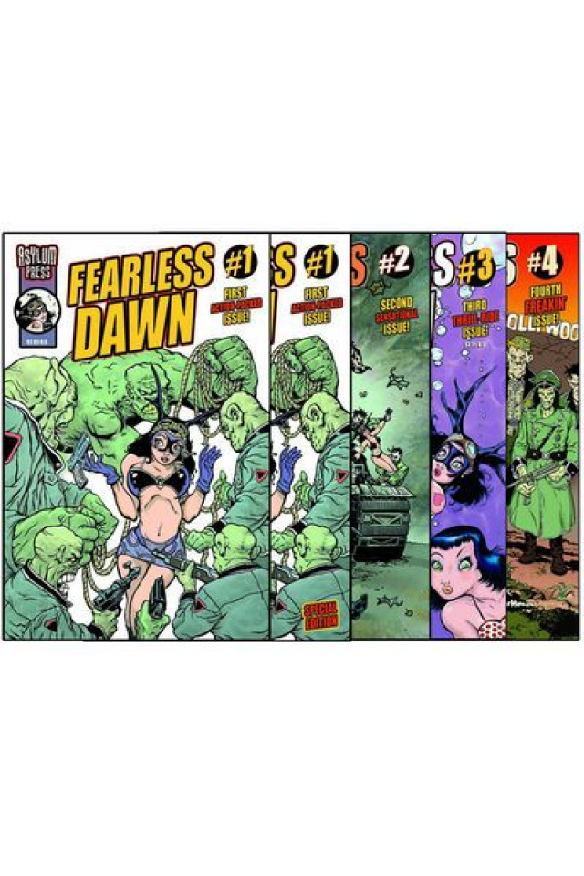 Fearless Dawn Signed 5 Pack