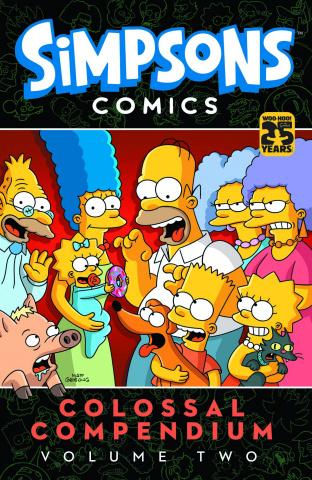 Simpsons Comics: Colossal Compendium Vol. 2