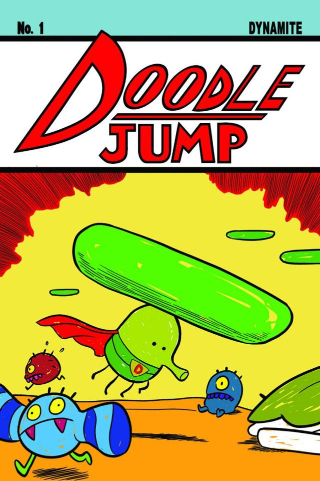 Doodle Jump #1 (Gran Cover)