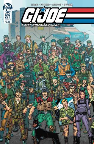 G.I. Joe: A Real American Hero #271 (Sullivan Cover)