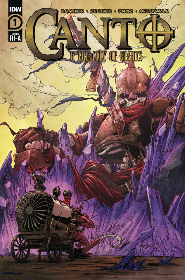 Canto and The City of Giants #1 (10 Copy Zucker Cover)