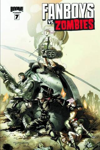Fanboys vs. Zombies #7