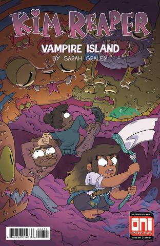 Kim Reaper: Vampire Island #4