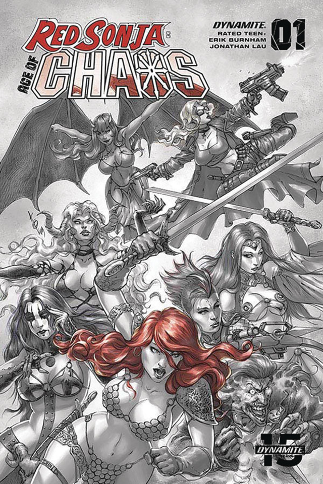 Red Sonja: Age of Chaos #1 (40 Copy Quah Hell Red Cover)