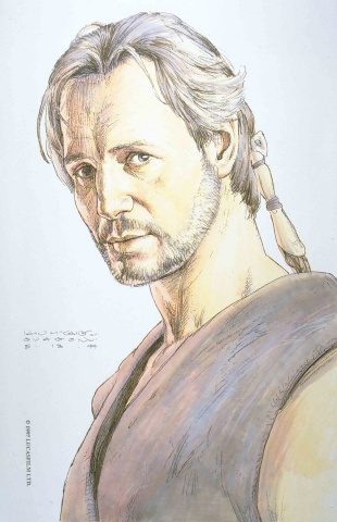 Star Wars: Age of Republic - Qui-Gon Jinn #1 (McCaig Design Cover)