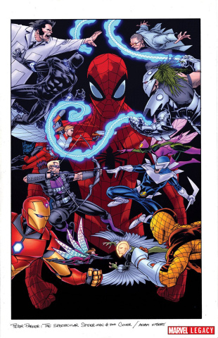 Peter Parker: The Spectacular Spider-Man #300 (Kubert Cover)