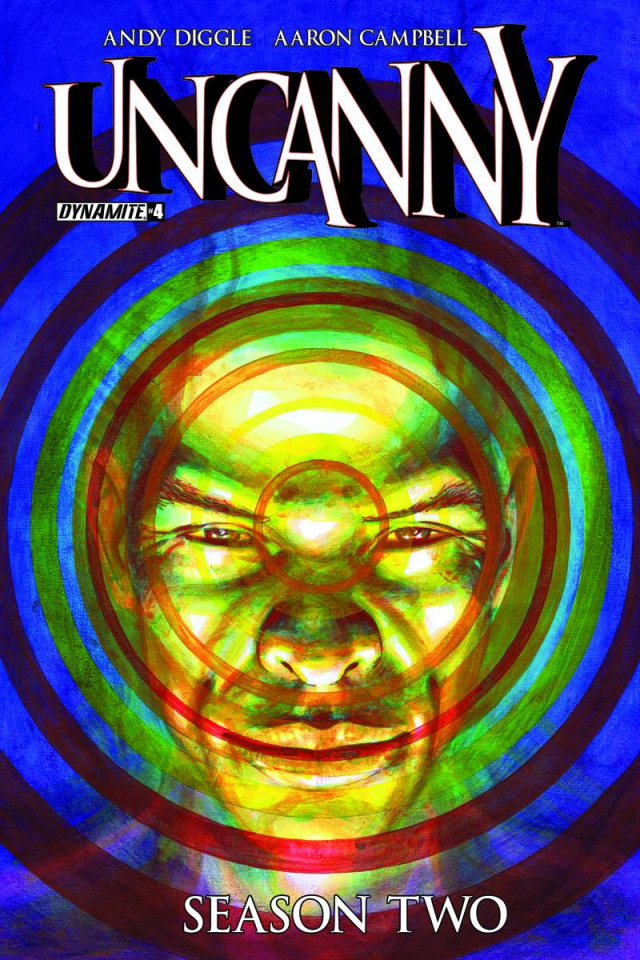 Uncanny, Season Two #4 (Subscription Cover)