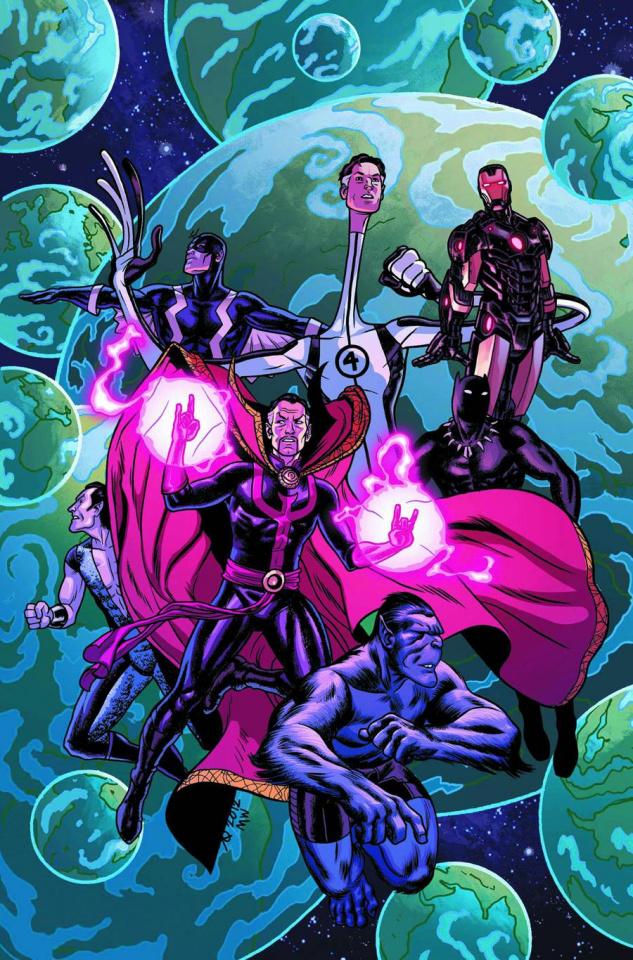 New Avengers #5 (Quinones Variant)