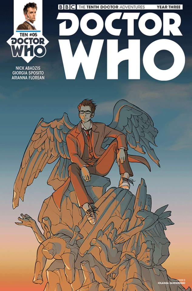 Doctor Who: New Adventures with the Tenth Doctor, Year Three #5 (Zanfardino Cover)
